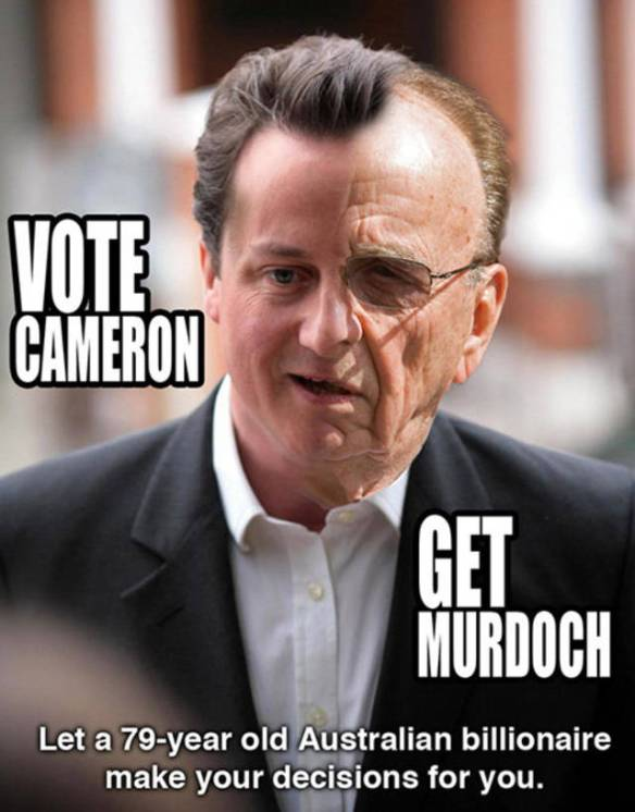 Murdoch/Cameron cartoon